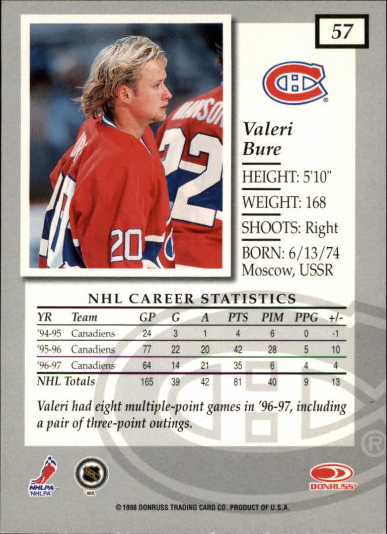 1997-98-Donruss-Elite-Hockey-1-150-Your-Choice-GOTBASEBALLCARDS thumbnail 107