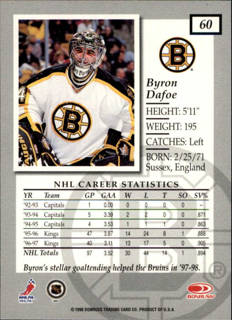 1997-98-Donruss-Elite-Hockey-1-150-Your-Choice-GOTBASEBALLCARDS thumbnail 109