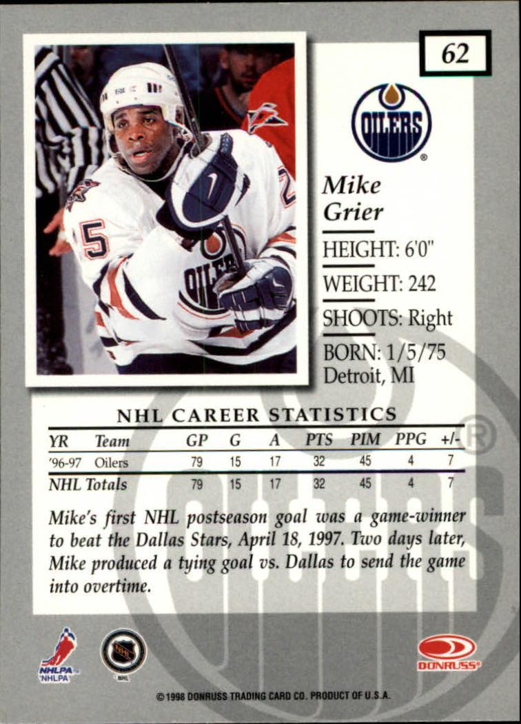 1997-98-Donruss-Elite-Hockey-1-150-Your-Choice-GOTBASEBALLCARDS thumbnail 113