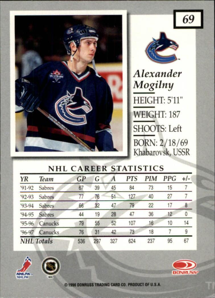 1997-98-Donruss-Elite-Hockey-1-150-Your-Choice-GOTBASEBALLCARDS thumbnail 125