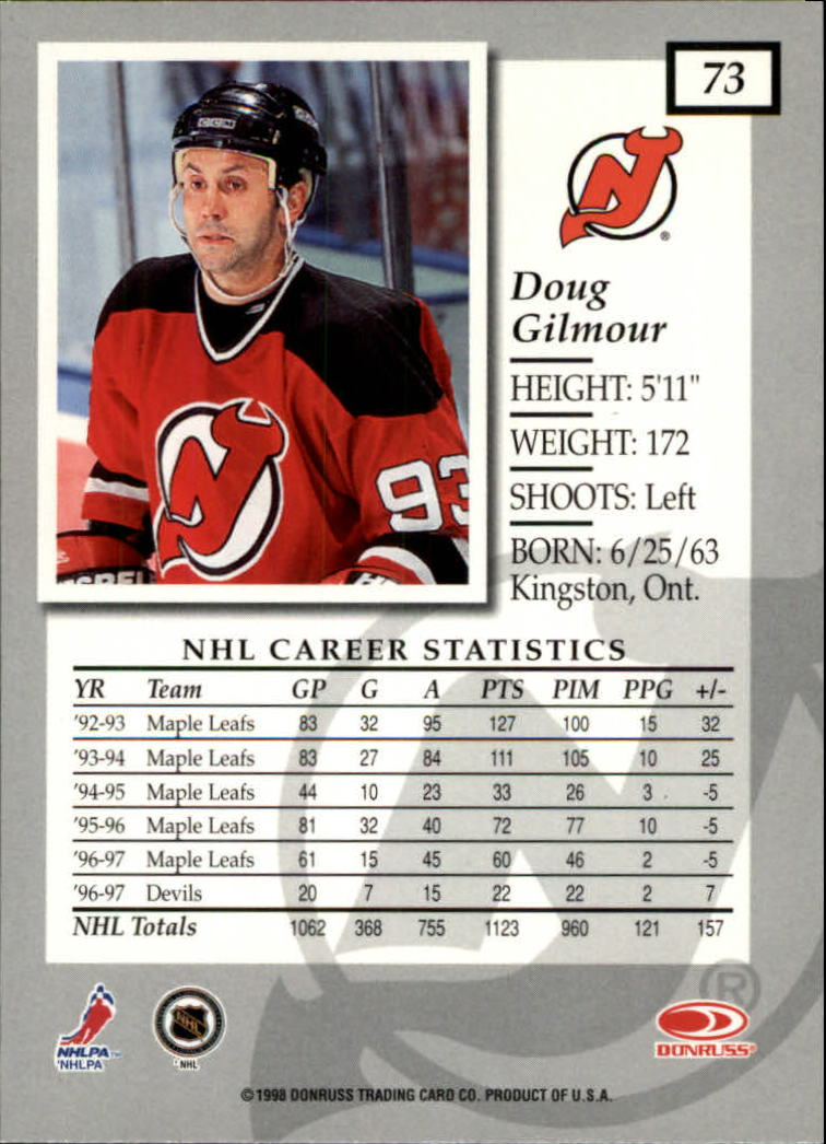 1997-98-Donruss-Elite-Hockey-1-150-Your-Choice-GOTBASEBALLCARDS thumbnail 131