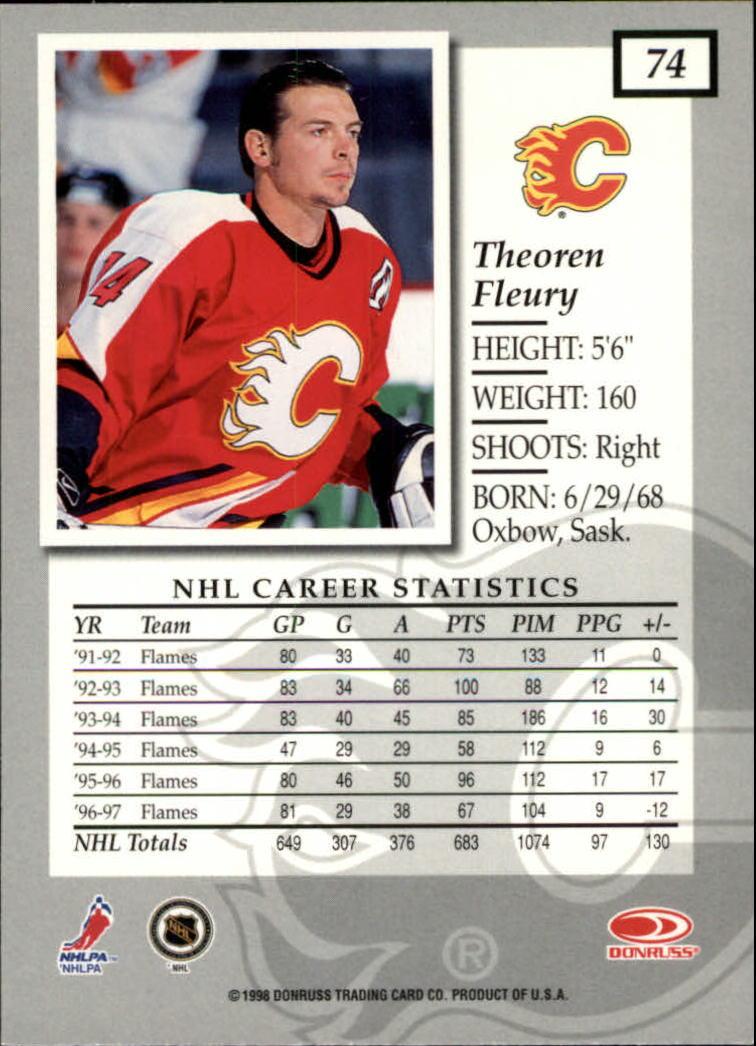 1997-98-Donruss-Elite-Hockey-1-150-Your-Choice-GOTBASEBALLCARDS thumbnail 133