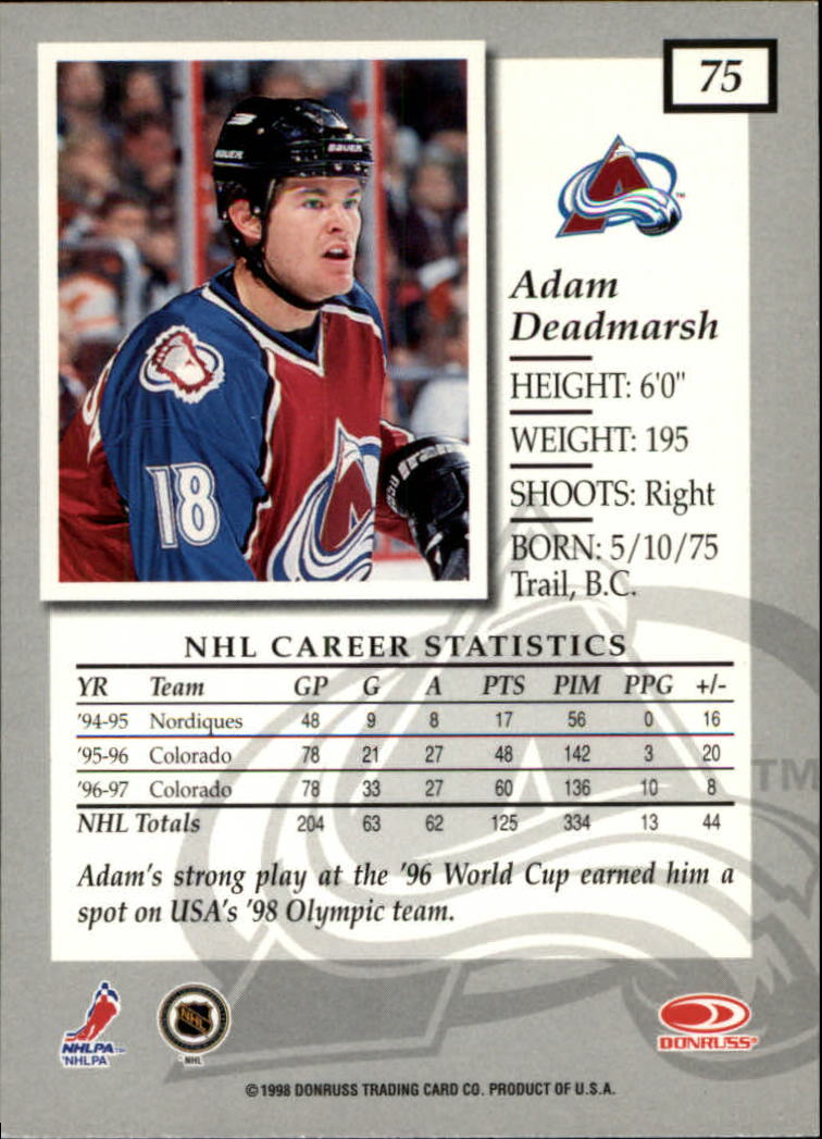 1997-98-Donruss-Elite-Hockey-1-150-Your-Choice-GOTBASEBALLCARDS thumbnail 135