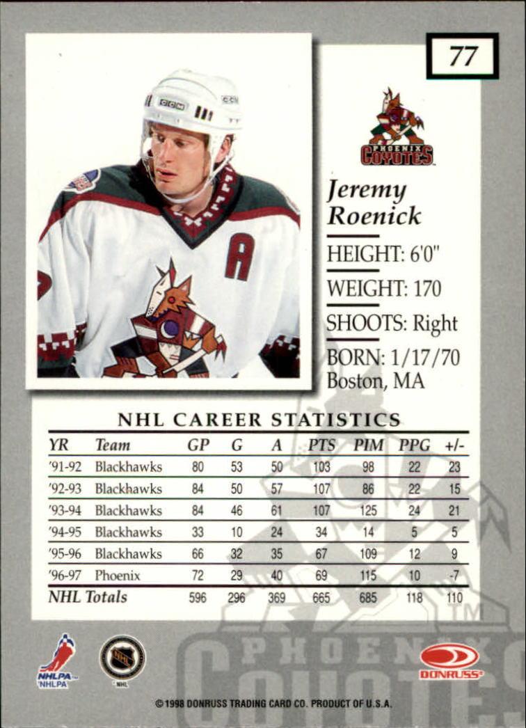 1997-98-Donruss-Elite-Hockey-1-150-Your-Choice-GOTBASEBALLCARDS thumbnail 139