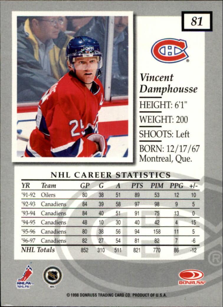 1997-98-Donruss-Elite-Hockey-1-150-Your-Choice-GOTBASEBALLCARDS thumbnail 147