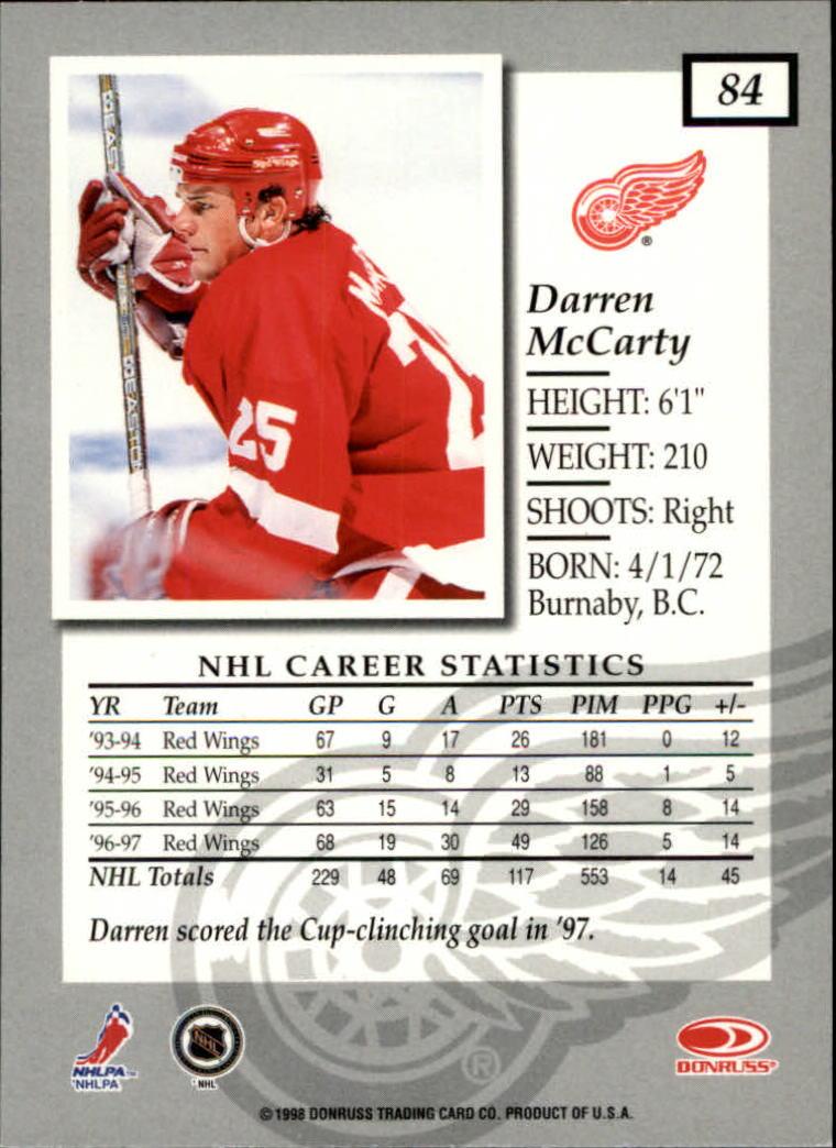 1997-98-Donruss-Elite-Hockey-1-150-Your-Choice-GOTBASEBALLCARDS thumbnail 153