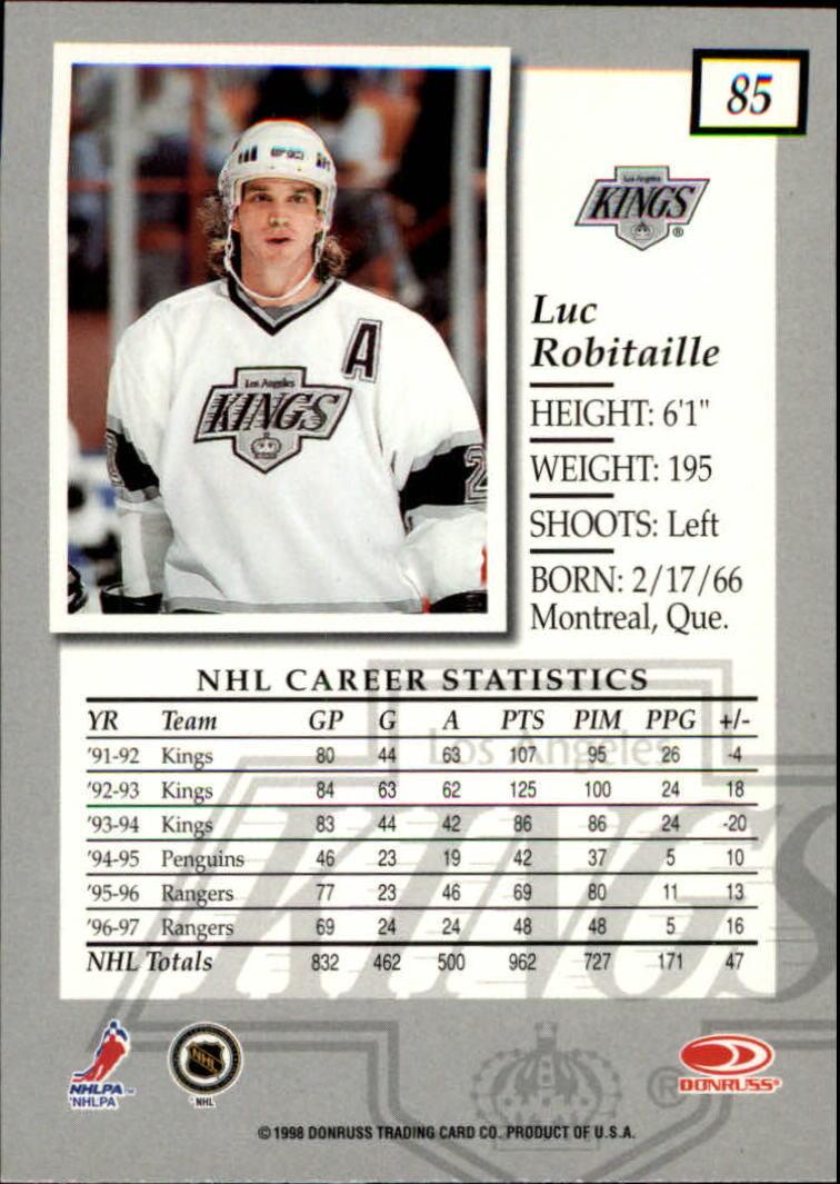1997-98-Donruss-Elite-Hockey-1-150-Your-Choice-GOTBASEBALLCARDS thumbnail 155