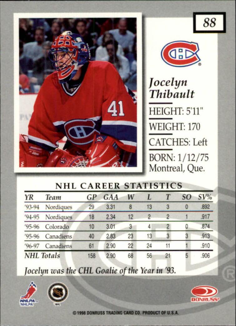 1997-98-Donruss-Elite-Hockey-1-150-Your-Choice-GOTBASEBALLCARDS thumbnail 161