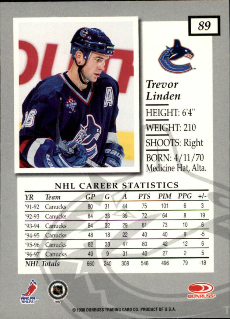 1997-98-Donruss-Elite-Hockey-1-150-Your-Choice-GOTBASEBALLCARDS thumbnail 163
