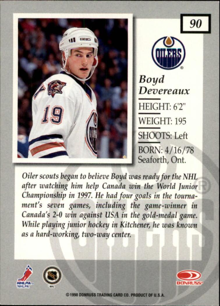 1997-98-Donruss-Elite-Hockey-1-150-Your-Choice-GOTBASEBALLCARDS thumbnail 165