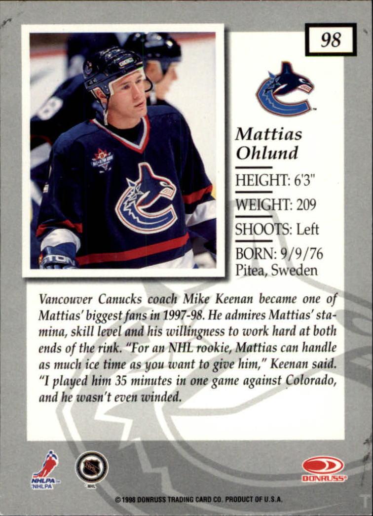 1997-98-Donruss-Elite-Hockey-1-150-Your-Choice-GOTBASEBALLCARDS thumbnail 181