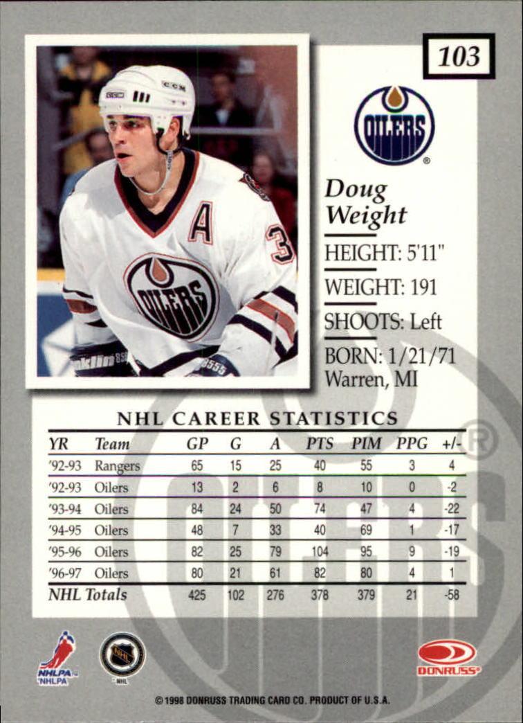 1997-98-Donruss-Elite-Hockey-1-150-Your-Choice-GOTBASEBALLCARDS thumbnail 191