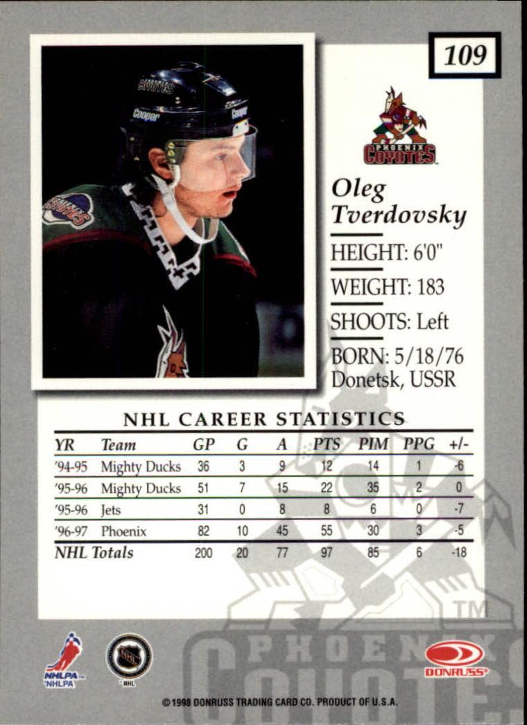 1997-98-Donruss-Elite-Hockey-1-150-Your-Choice-GOTBASEBALLCARDS thumbnail 203
