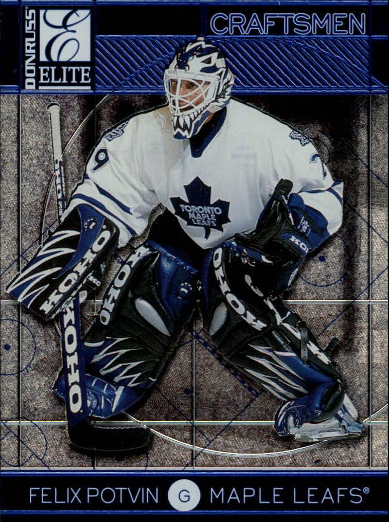 1997-98 Donruss Elite Craftsmen #13 Felix Potvin