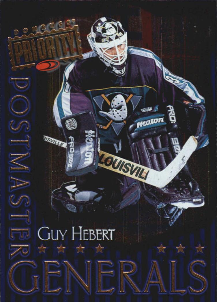 1997-98 Donruss Priority Postmaster Generals #20 Guy Hebert