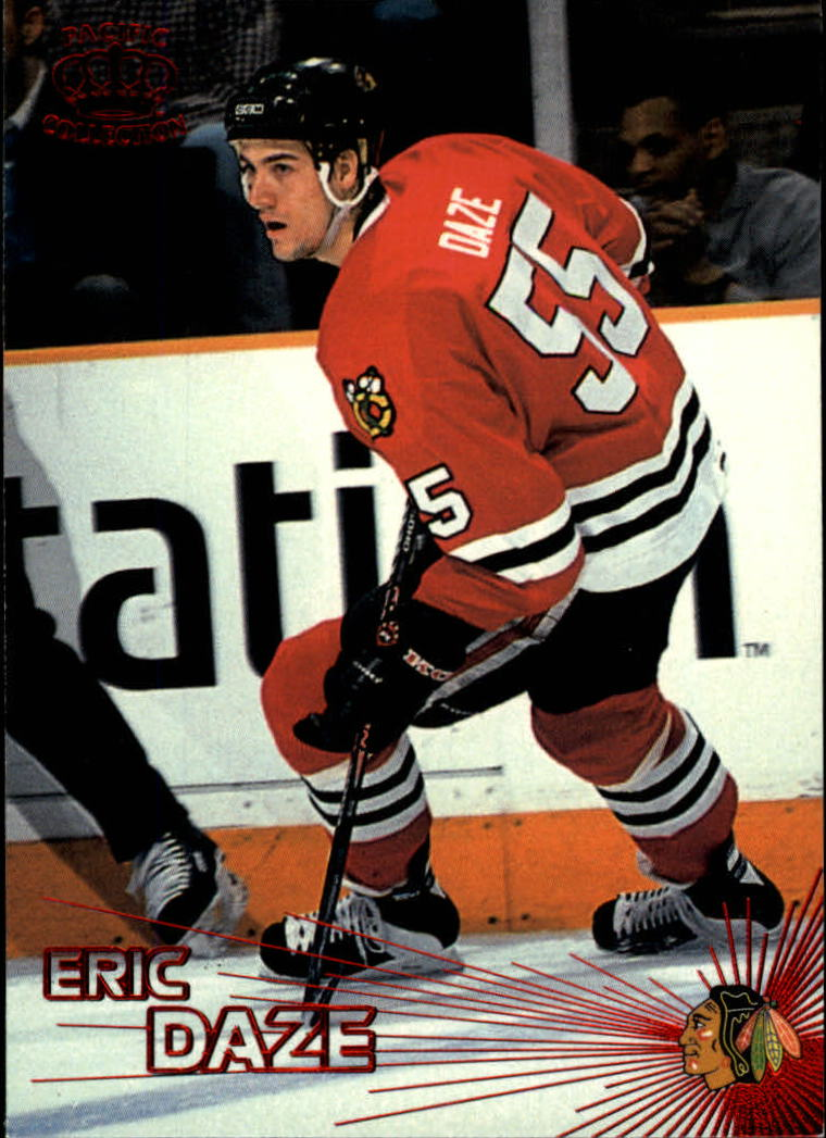 1997-98 Pacific Red #108 Eric Daze