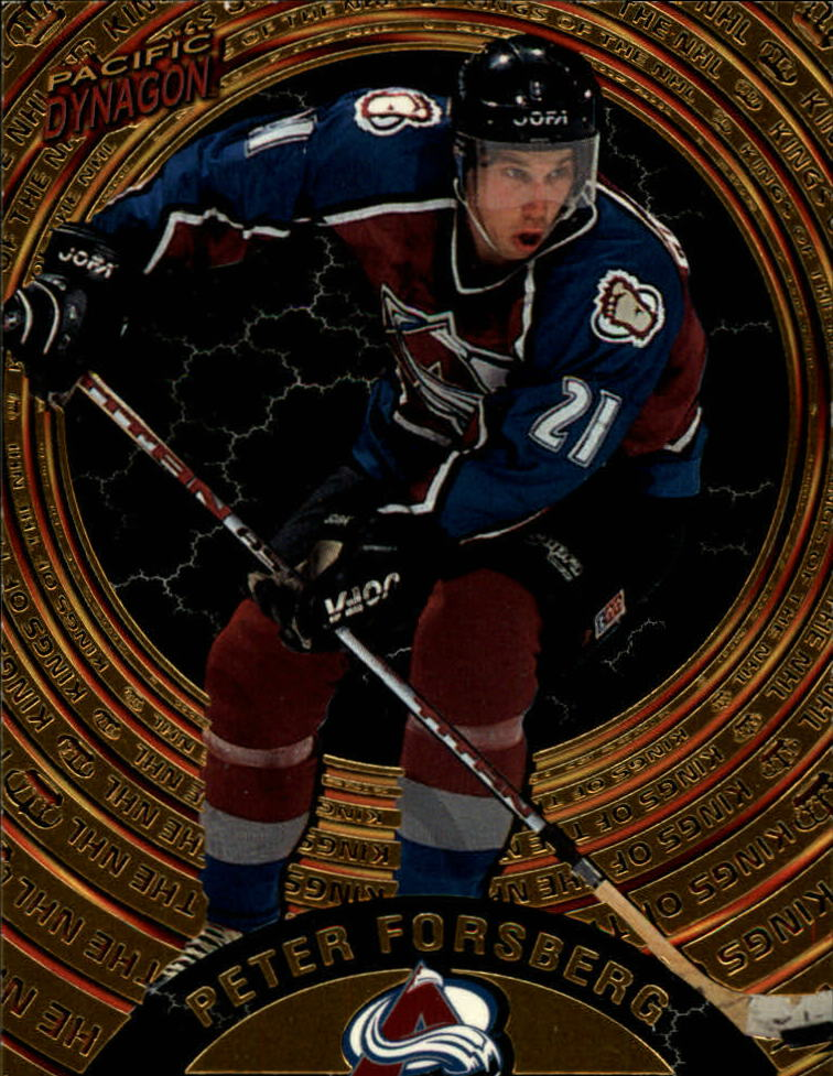 1997-98 Pacific Dynagon Kings of the NHL #2 Peter Forsberg