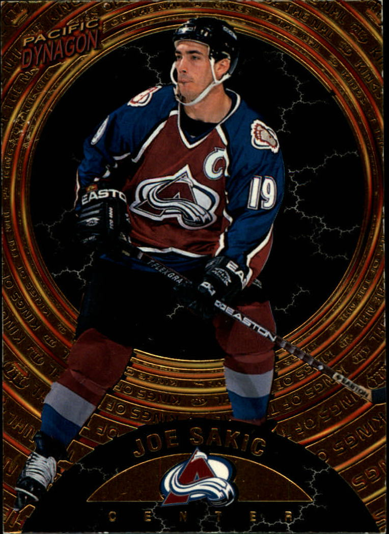1997-98 Pacific Dynagon Kings of the NHL #4 Joe Sakic