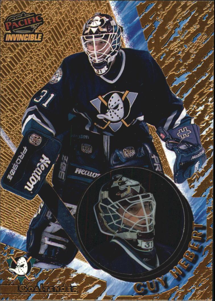 Guy Hebert Hockey Card 1997-98 Dynagon #2 Guy Hebert