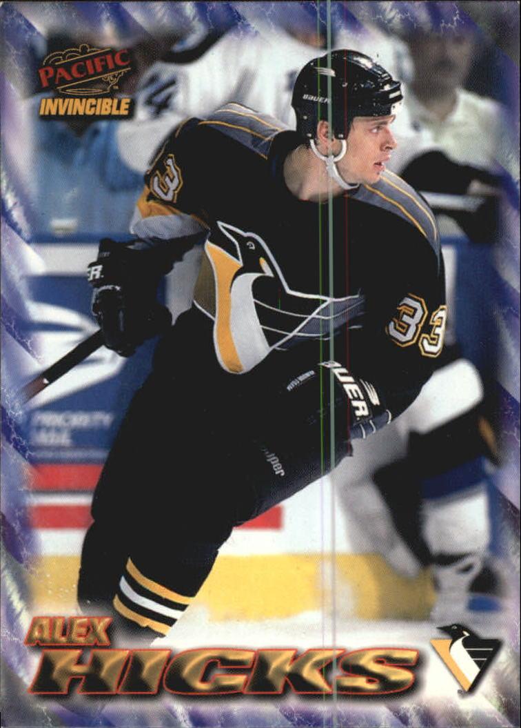 1997-98 Pacific Invincible NHL Regime #159 Alex Hicks