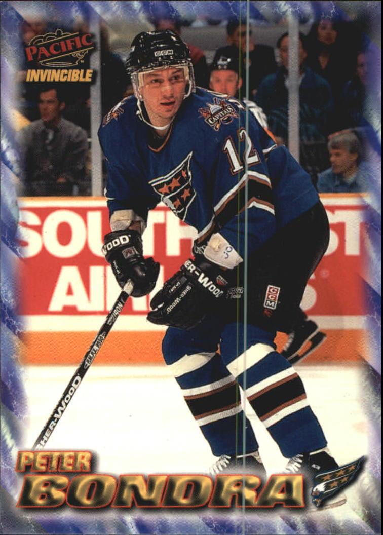 1997-98 Pacific Invincible NHL Regime #206 Peter Bondra