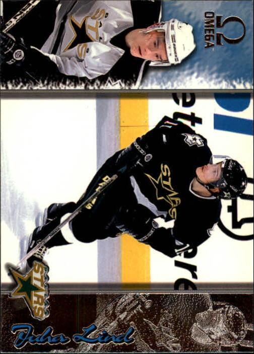 1997-98 Pacific Omega #72 Juha Lind RC