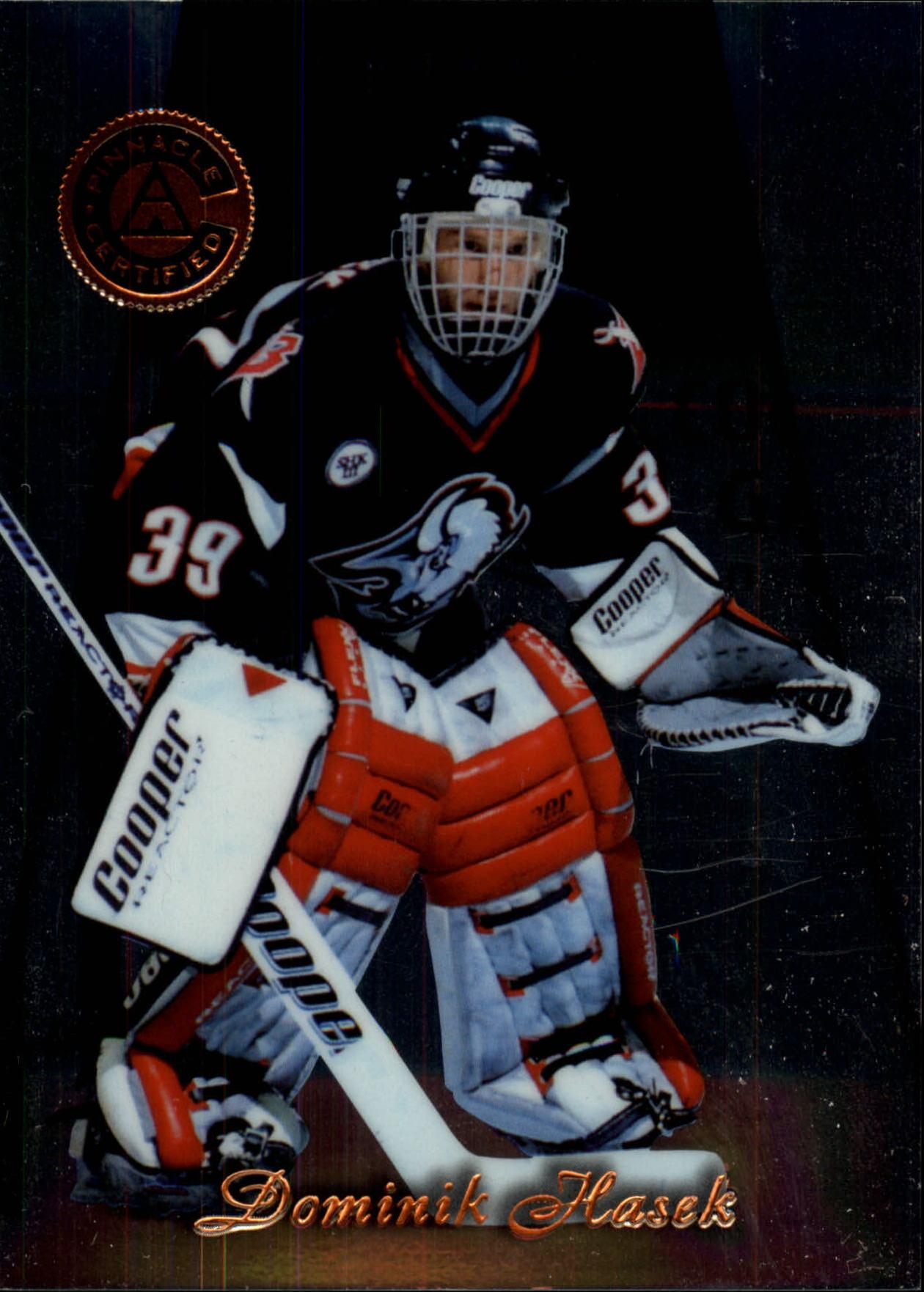1997-98 Pinnacle Certified #1 Dominik Hasek