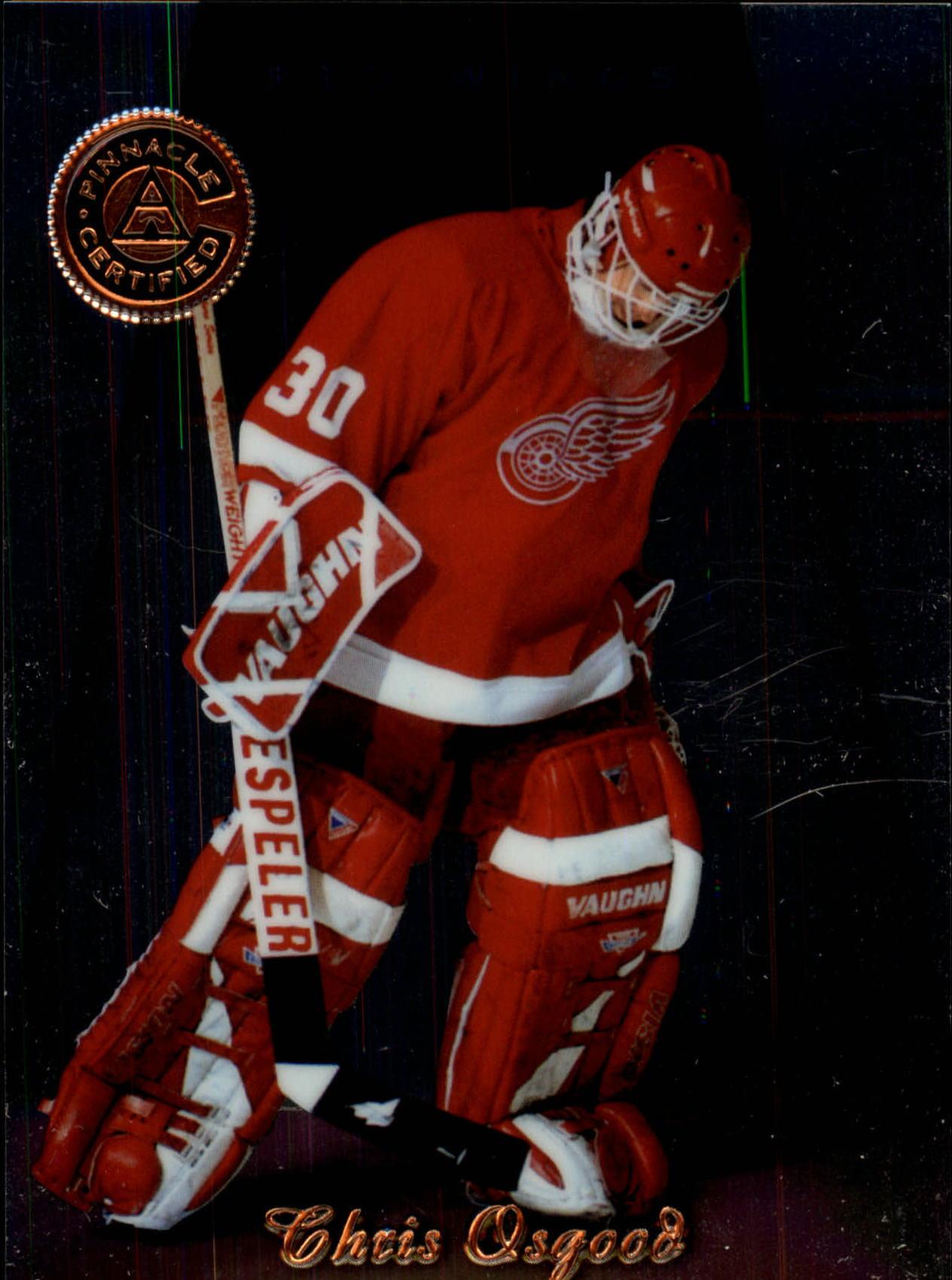 1997-98 Pinnacle Certified #4 Chris Osgood