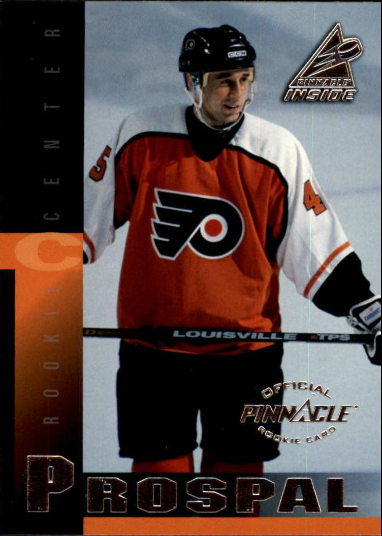 1997-98 Pinnacle Inside #143 Vaclav Prospal RC