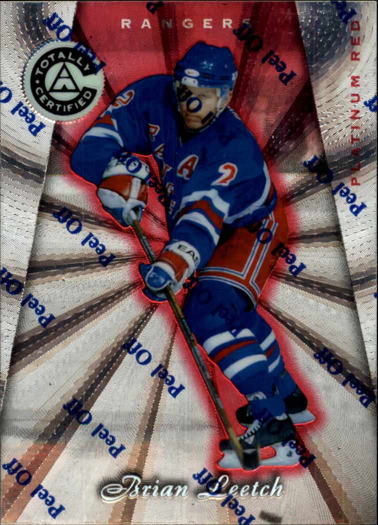 1997-98 Pinnacle Totally Certified Platinum Red #36 Brian Leetch