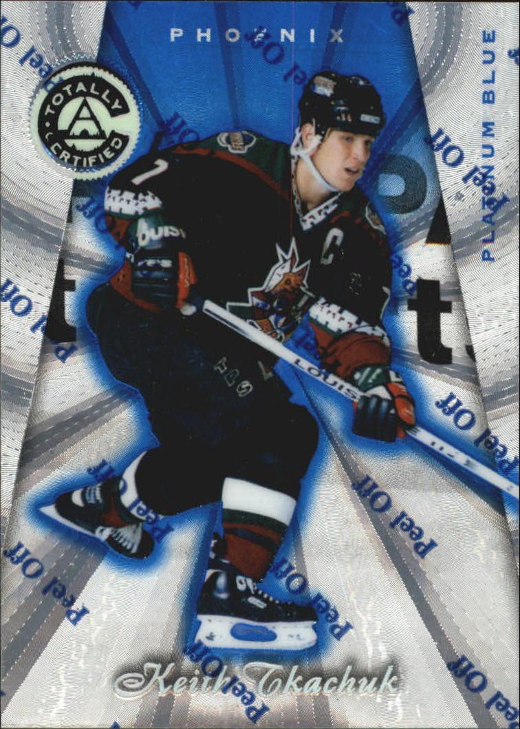1997-98 Pinnacle Totally Certified Platinum Blue #37 Keith Tkachuk