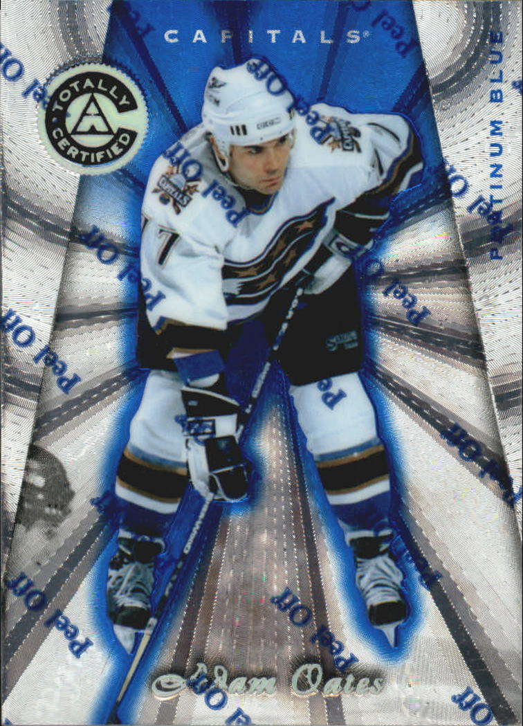 1997-98 Pinnacle Totally Certified Platinum Blue #49 Adam Oates