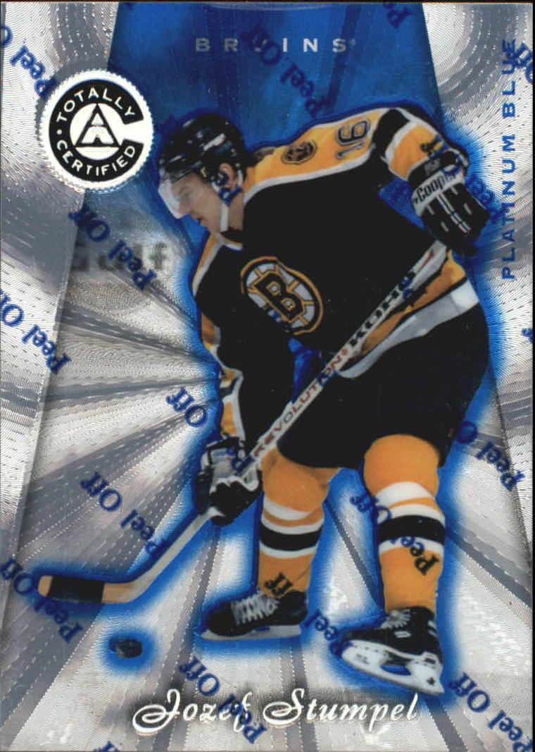 1997-98 Pinnacle Totally Certified Platinum Blue #97 Jozef Stumpel