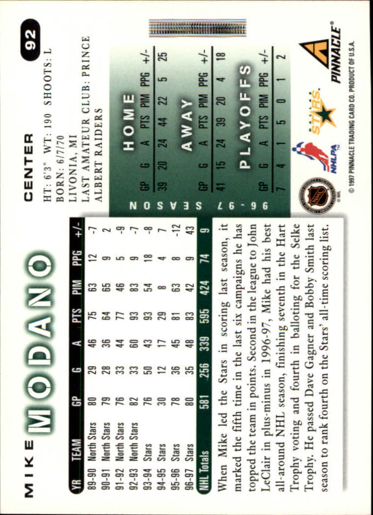 1997-98-Score-Hockey-1-249-Your-Choice-GOTBASEBALLCARDS thumbnail 155