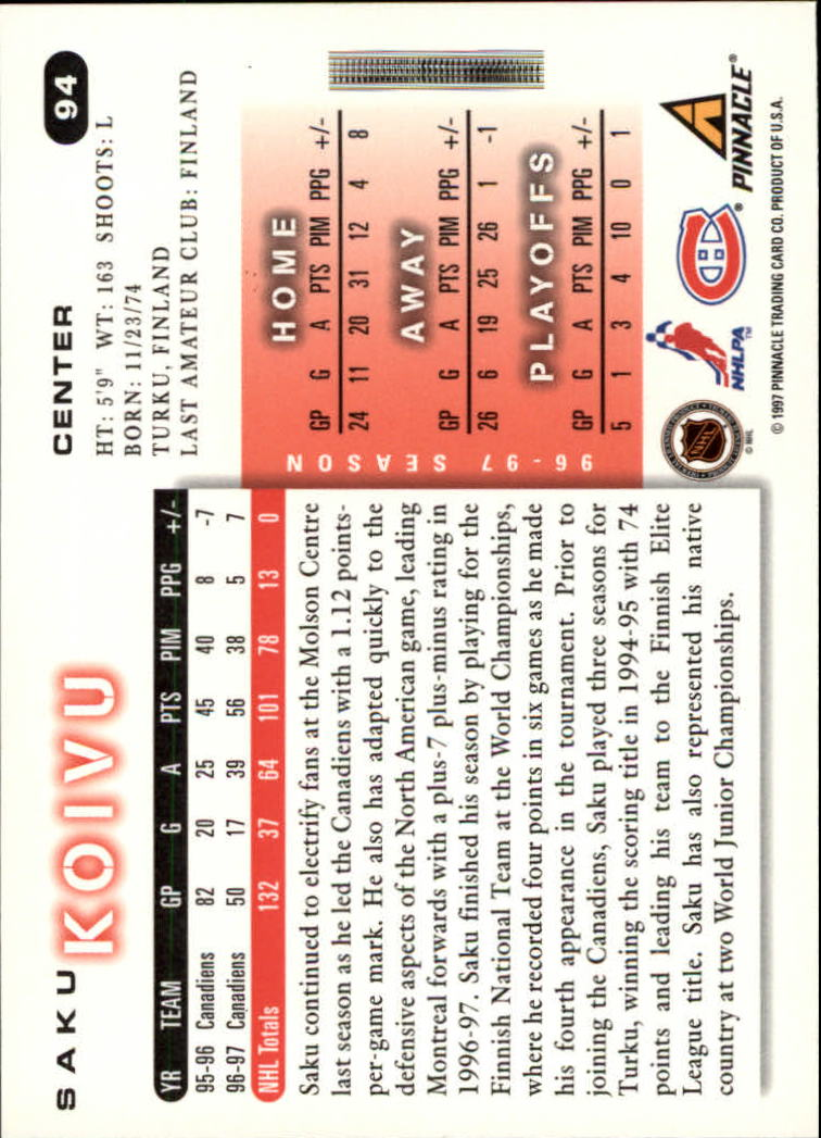 1997-98-Score-Hockey-1-249-Your-Choice-GOTBASEBALLCARDS thumbnail 159