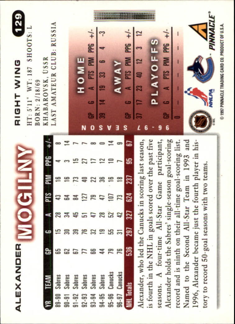 1997-98-Score-Hockey-1-249-Your-Choice-GOTBASEBALLCARDS thumbnail 219