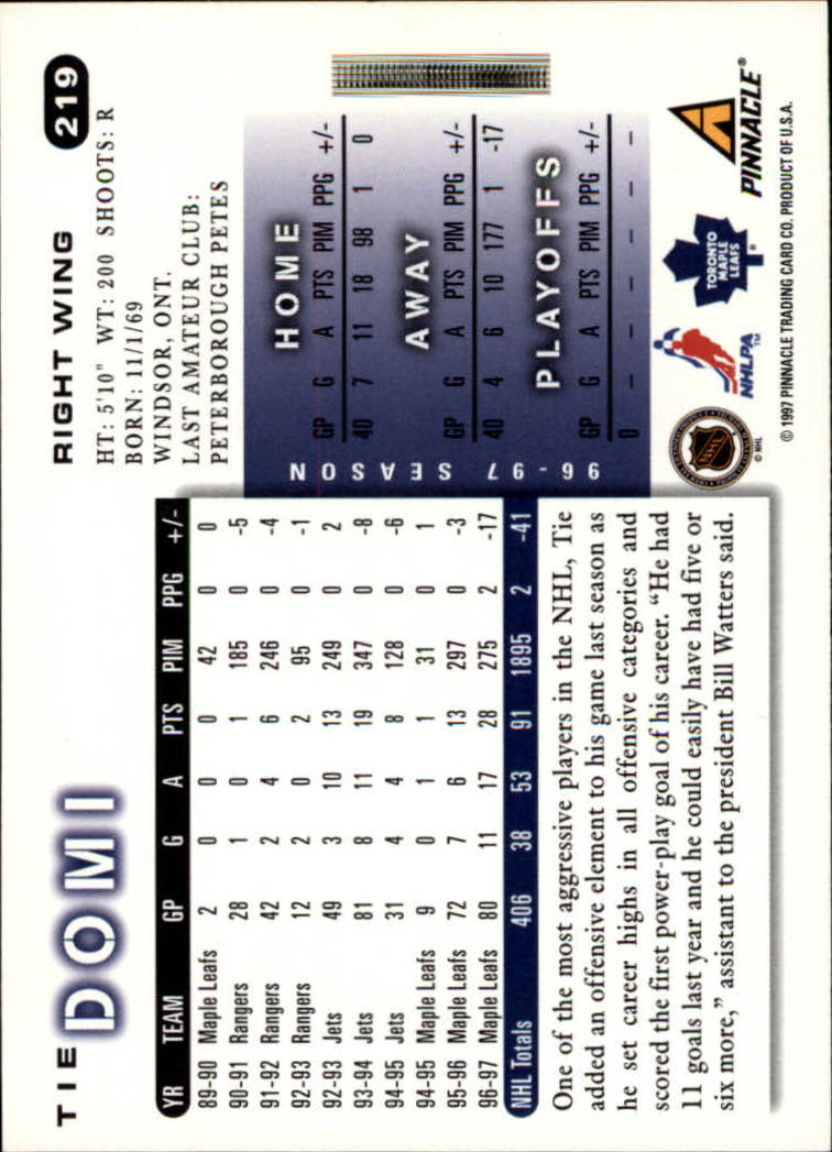 1997-98-Score-Hockey-1-249-Your-Choice-GOTBASEBALLCARDS thumbnail 383