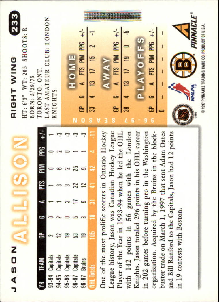 1997-98-Score-Hockey-1-249-Your-Choice-GOTBASEBALLCARDS thumbnail 407