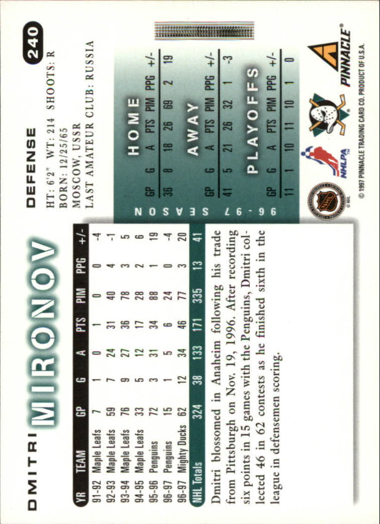 1997-98-Score-Hockey-1-249-Your-Choice-GOTBASEBALLCARDS thumbnail 419