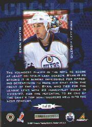1997-98 Score Check It #8 Ryan Smyth back image