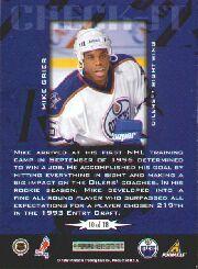 1997-98 Score Check It #10 Mike Grier back image