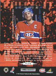 1997-98 Score Check It #11 Vincent Damphousse back image