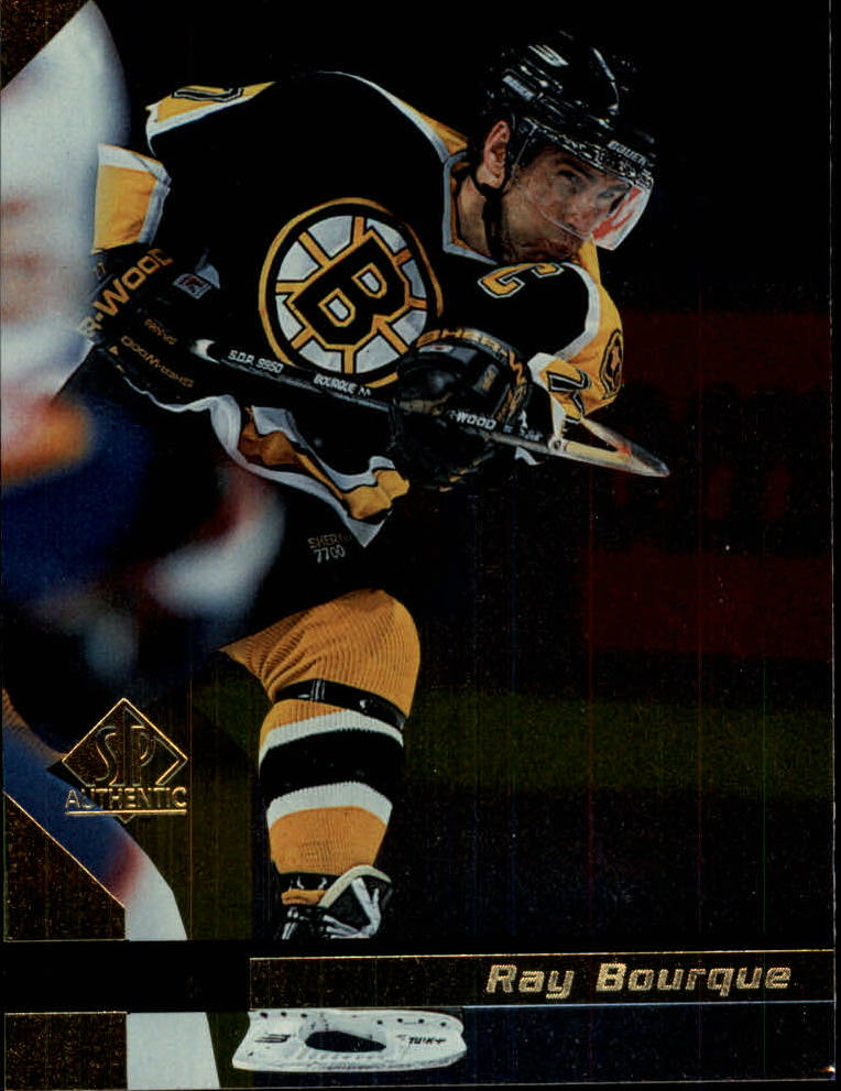 1997-98 SP Authentic #8 Ray Bourque