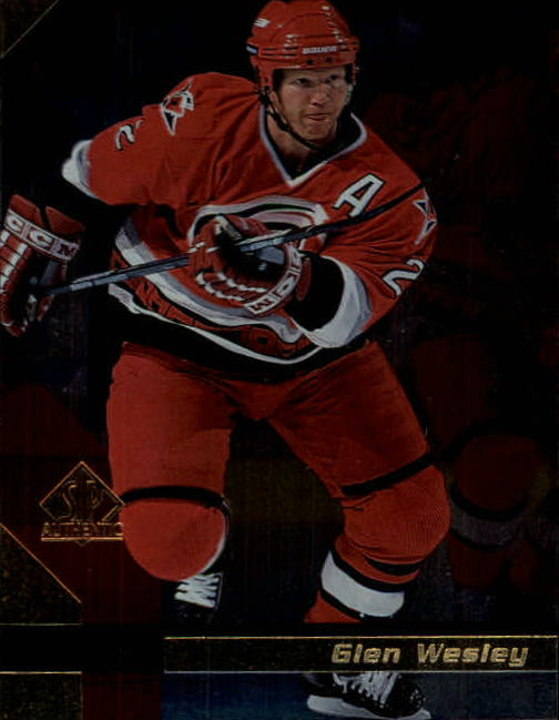 1997-98 SP Authentic #23 Glen Wesley