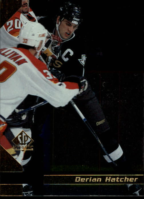 1997-98 SP Authentic #45 Derian Hatcher