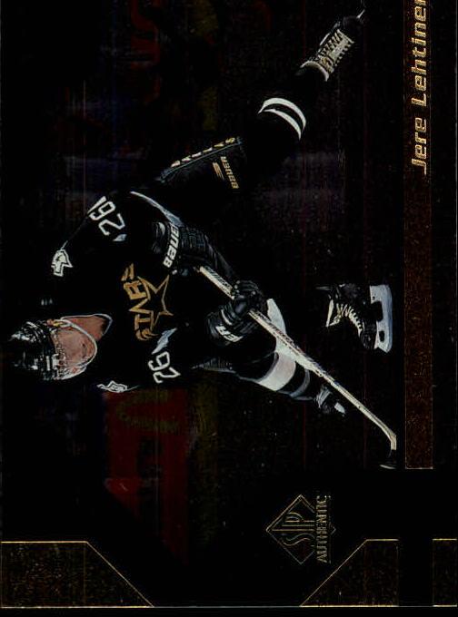 1997-98 SP Authentic #48 Jere Lehtinen