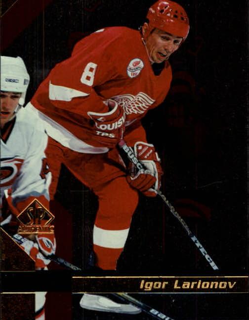 1997-98 SP Authentic #54 Igor Larionov