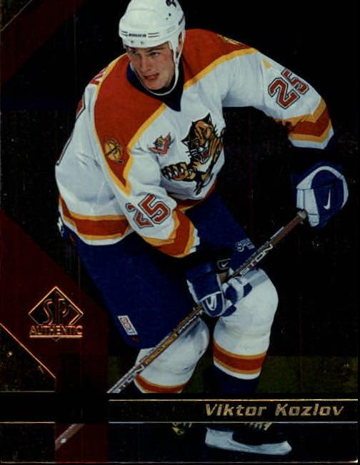 1997-98 SP Authentic #70 Viktor Kozlov