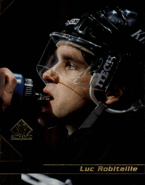 1997-98 SP Authentic #77 Luc Robitaille