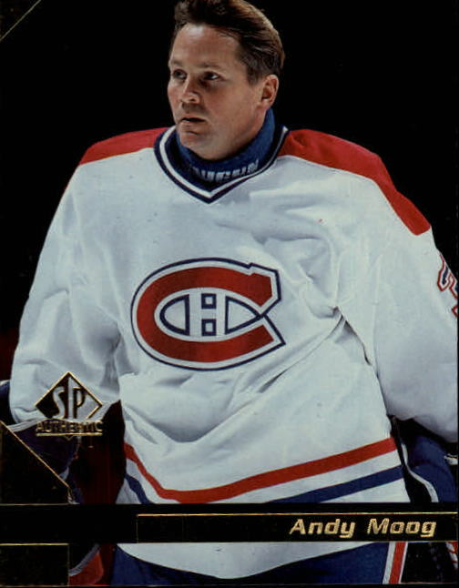 1997-98 SP Authentic #81 Andy Moog